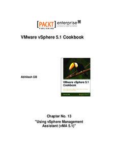 Vmware Vsphere 5.1 Cookbook Pdf