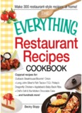 Everything Restaurant Recipes Cookbook