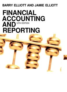 Financial Accounting and Reporting