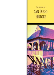 The Journal of San Diego History