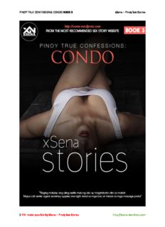 PINOY TRUE CONFESSIONS: CONDO BOOK 3 xSena – Pinoy Sex Stories 1 PDF made possible ...
