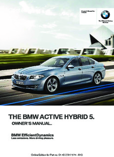 the bmw active hybrid 5 owners manual ( ebfinder.com ).pdf