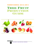 Tree Fruit Production Guide - Pennsylvania State University