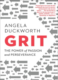 Grit: The Power of Passion and Perseverance(May 3, 2016)