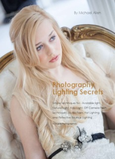 Photography Lighting Secrets - Michael Allen Photography