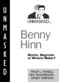 Unmasked, Benny Hinn - Cross+Word
