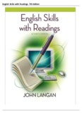 English Skills with Readings, 7th Edition