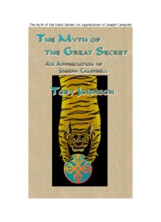 The Myth of the Great Secret: An Appreciation of Joseph Campbell