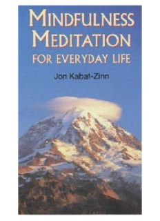 Mindfulness Meditation (For Everyday Life)