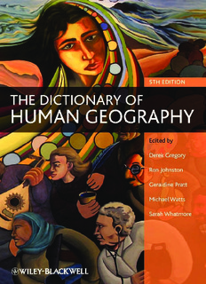 The Dictionary of Human Geography ( ebfinder.com ).pdf