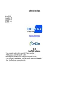 Comptia A+ 220-801 And 220-802 Authorized Exam Cram Pdf