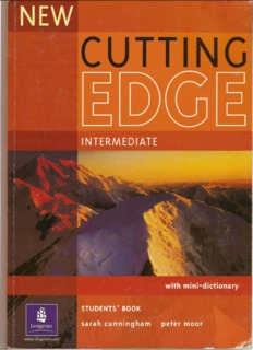 Cutting Edge 3rd Edition Pdf