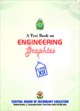 A Text Book on Engineering Graphics - Cbse