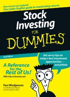 Stock investing for Dummies.pdf