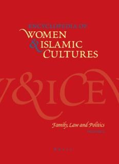 Women & Islamic Cultures  Family, Law and Politics ( ebfinder.com ).pdf