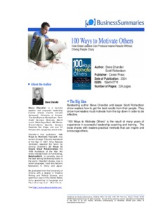 100 Ways to Motivate Others BIZ - Trainings.UA