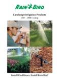 Landscape Irrigation Products