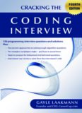 Cracking the Coding Interview, 4 Edition: 150 Programming Interview Questions and Solutions