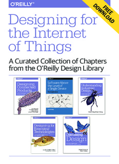 Designing for Internet of things