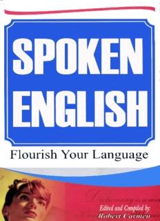 Spoken English Pdf