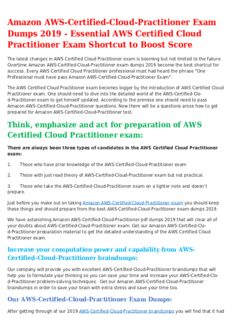 AWS-Certified-Cloud-Practitioner Mock Exam? It's Easy to Pass If You Do It Smart