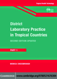 District Laboratory Practice in Tropical Countries, Part 1 - medical