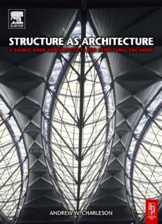 Structure as Architecture - School of Architecture