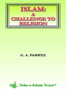 Islam-A-Challenge-to-Religion-G-A-Parwez-Tolue-Islam-Trust.pdf