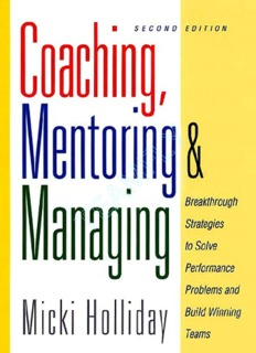Coaching Mentoring And Managing - A Coach Guidebook.pdf