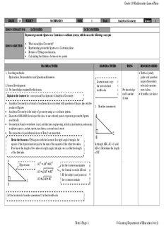 Grade 10 Mathematics Lesson Plans - SATeacher