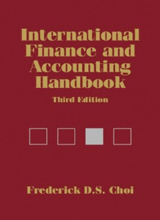 International Finance and Accounting Handbook
