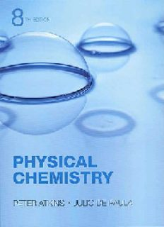 Atkins De Paula Physical Chemistry 8th txtbk solman.PDF