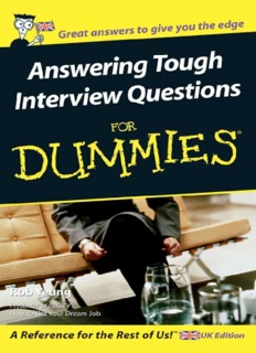 answering-tough-interview-questions-for-dummies.pdf