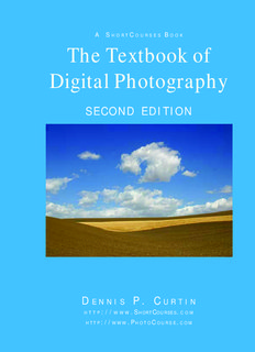 The Textbook of Digital Photography - PhotoCourse