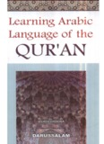 Learning Arabic Language of the Qur'an by Izzath Uroosa