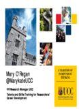 Mary O'Regan @MarykateUCC
