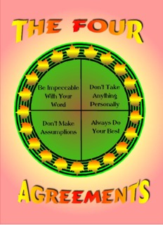 THE FOUR AGREEMENTS - Diane Venzera