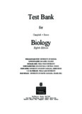 Biology, 8e (Campbell) - Course-Notes.Org