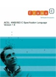 ACSL: ANSI/ISO C Specification Language Version 1.6 - Frama-C