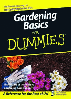 Gardening Basics For Dummies.pdf