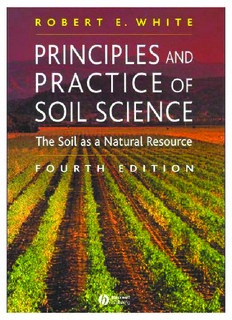 Principles and Practice of Soil Science The Soil as a Natural Resource