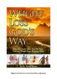 Weight Loss God's Way