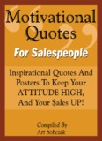 Motivational Quotes For Salespeople - Telesales, inside sales, and