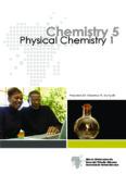 Chemistry 5 Physical Chemistry 1