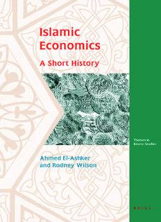Islamic Economics: A Short History