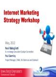 Internet Marketing Strategy Workshop