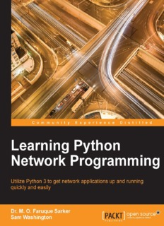 Learning Python Network Programming ( ebfinder.com ).pdf