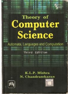 Introduction To Automata Theory Languages And Computation 3rd Pdf