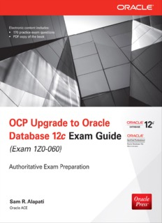 Oracle Press OCP Upgrade to Oracle Database 12c Exam Guide, Exam 1Z0-060