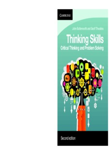 Thinking Skills_ Critical Thinking and Problem Solving ( ebfinder.com ).pdf